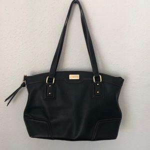 Liz Claiborne Faux Leather Pebble Grain bag